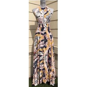 Jaase Endless Summer Maxi Dress Print Floral Boho